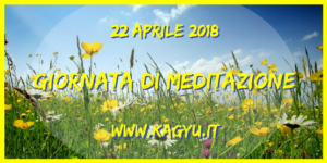 Giornata meditazione 22 4 2018
